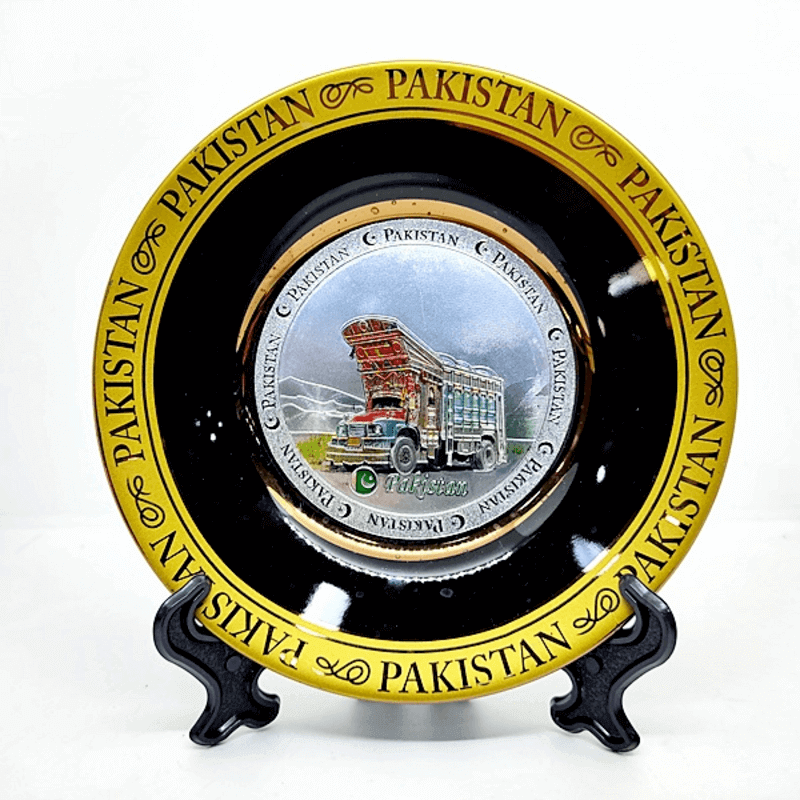 Pakistani Mazar-e-Quaid Souvenirs Plates
