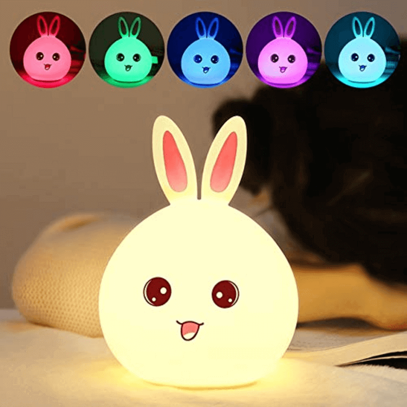 cute-rabbit-silicone-led-night-light