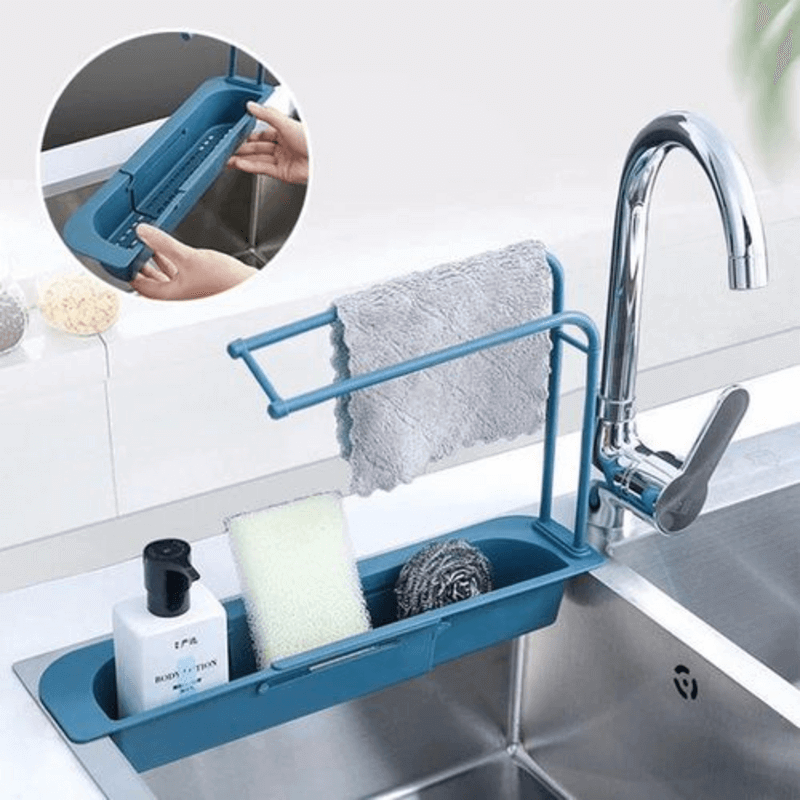 sink-holder-expandable-storage-drain-basket