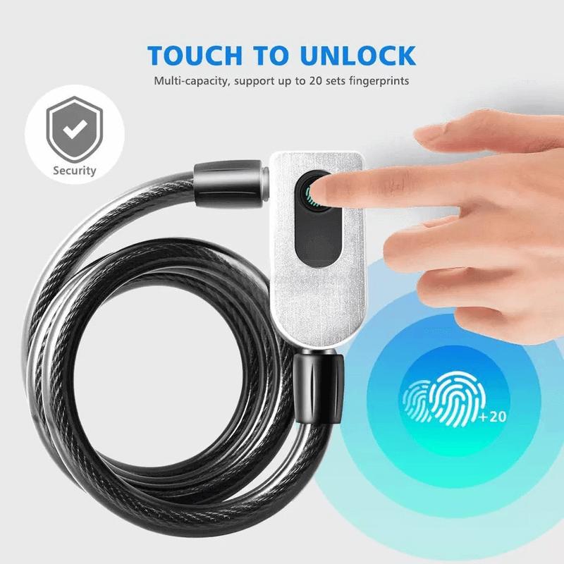 smart-bike-usb-fingerprint-lock-cable