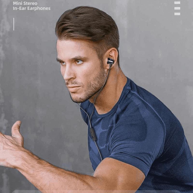Awei Wired Earphones Mini in Ear Stereo PC2 - Black