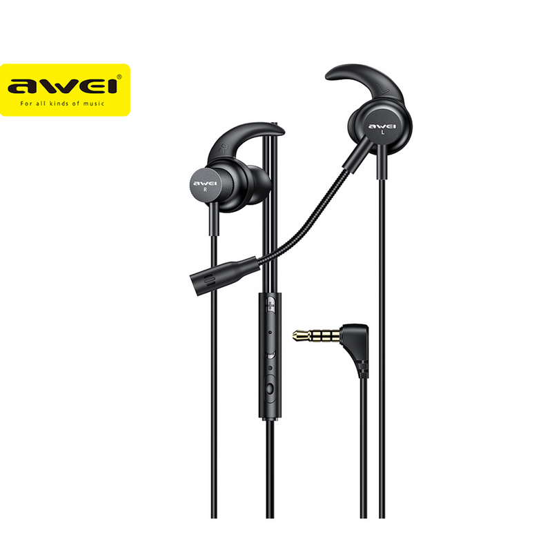 In-ear Gaming Earphones AWEI ES-180i