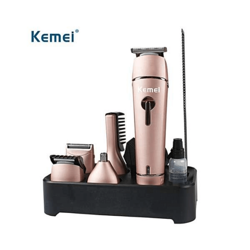 Kemei Professional Super Grooming Kit For Men 10 In 1 Km-1015