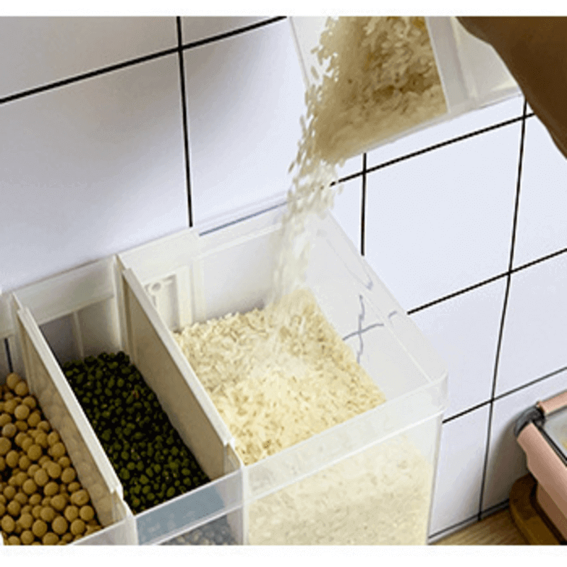 Wall-Mounted Rice And Grain Dispenser 10KG