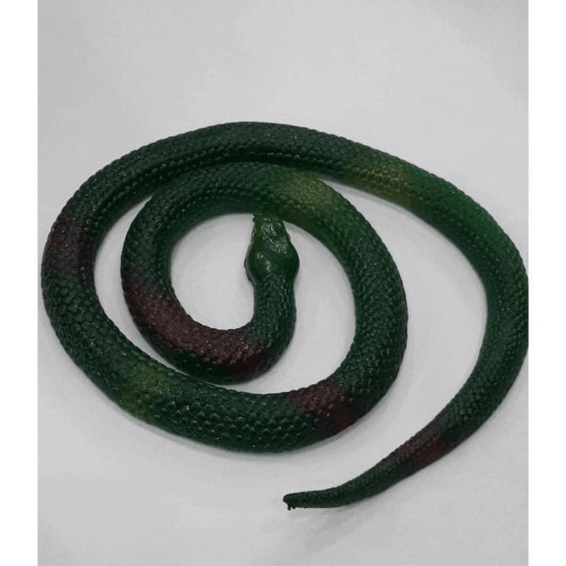 Soft Scary Rubber Snake Halloween Gift Simulation