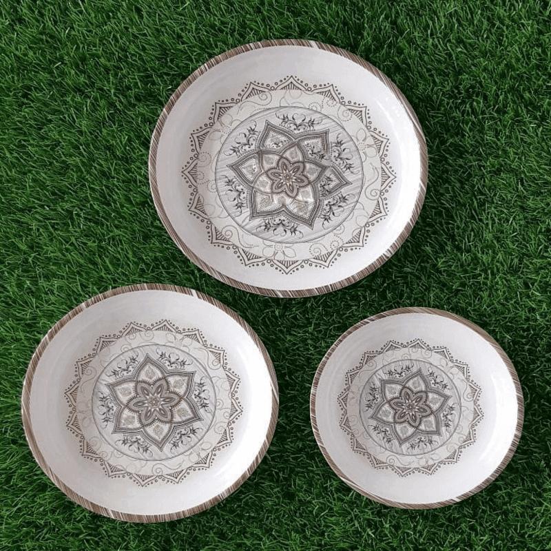 set-of-3-doucle-glazed-melamine-printed-dinner-set