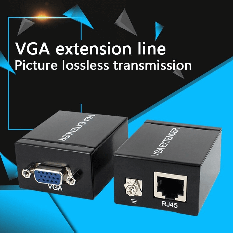 VGA To RJ45 Adapter Networking Signal Extender