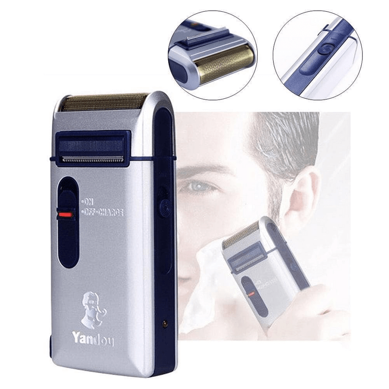 Reciprocating Electric Shaver Men Rechargeable Razor