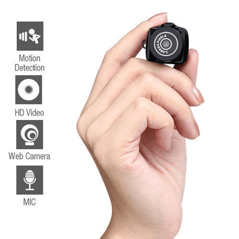 Mini Camera Portable Webcam Recorder 480P With Key Chain