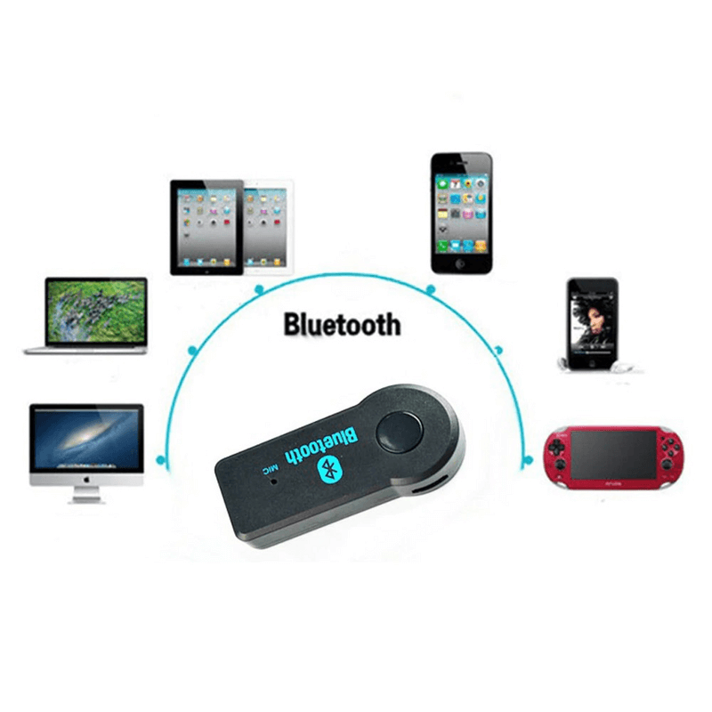 Bluetooth 5.0 Transmitter Adapter With 3.5mm Audio Jack
