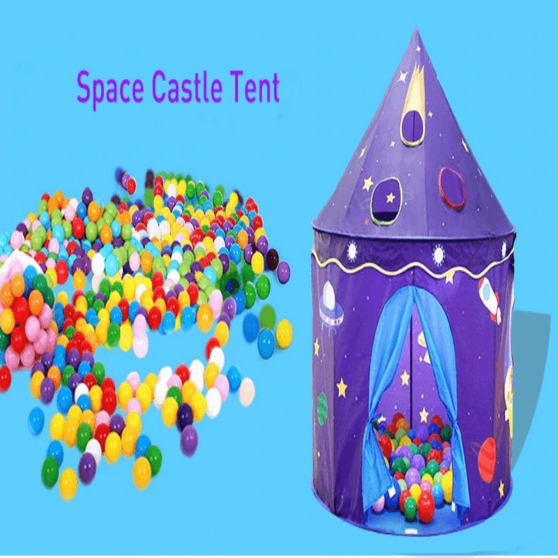 Foldable Kids Tent Children Castle Tent