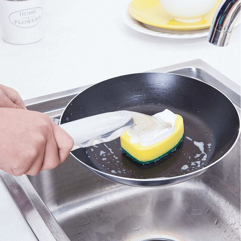 Dish Wand Scrubber Brush Cleaning Tool
