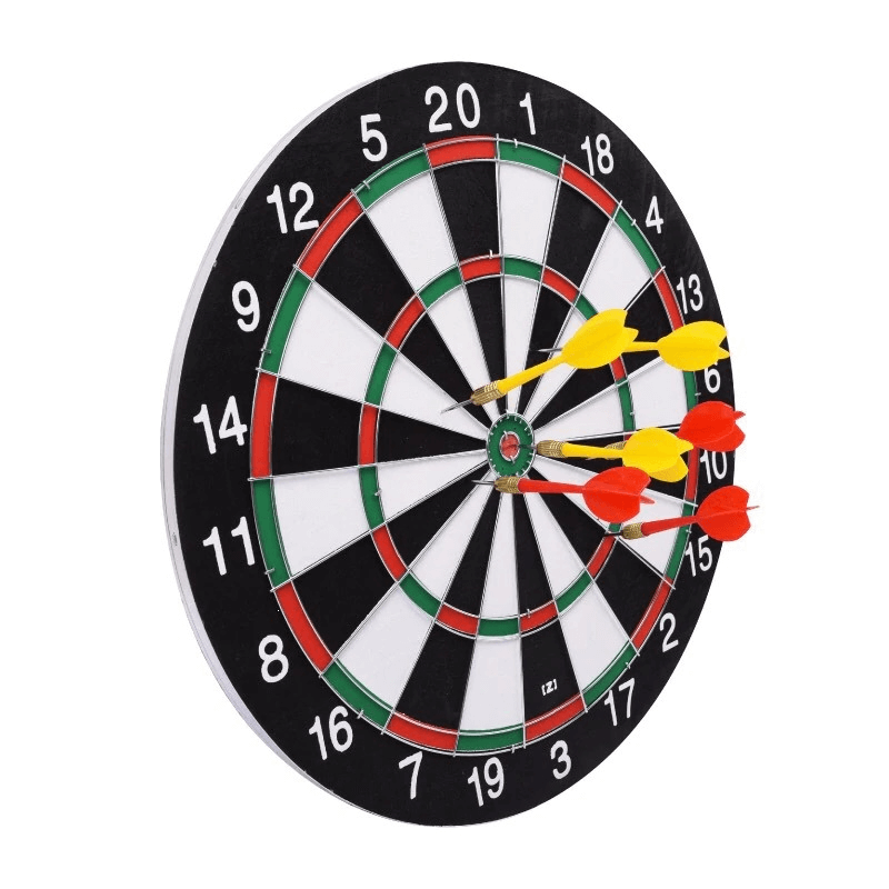 6-darts-and-darts-board-18-inches-double-sided-bullseye-target-g