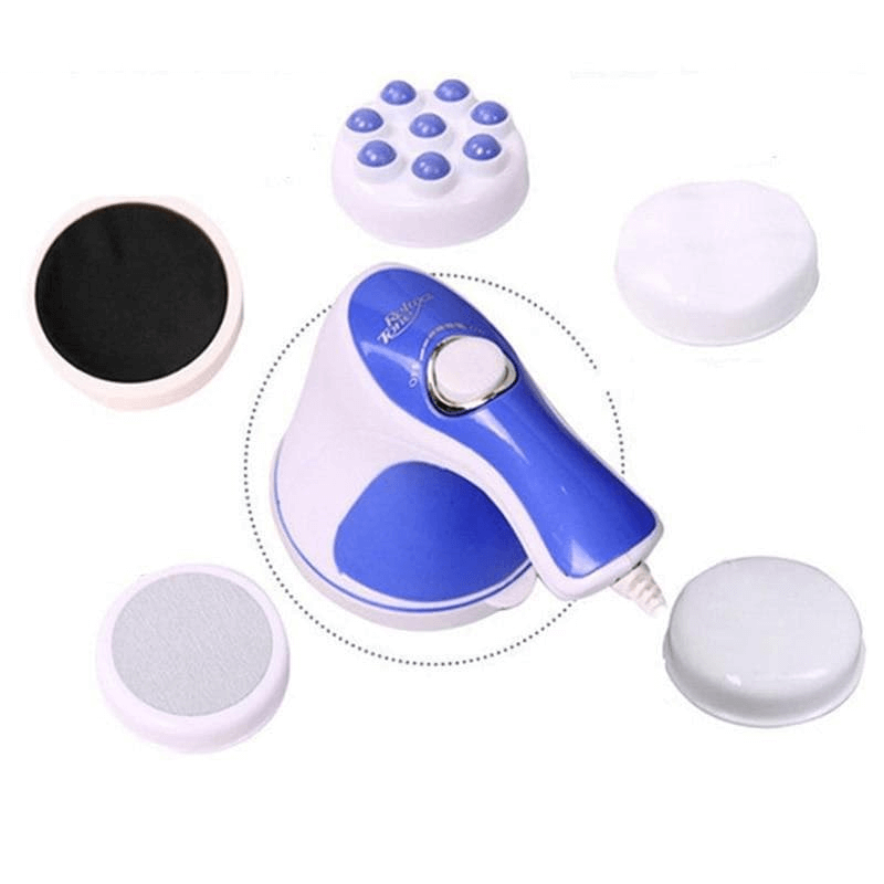 Electric Full Body Massager 5 Headers Device