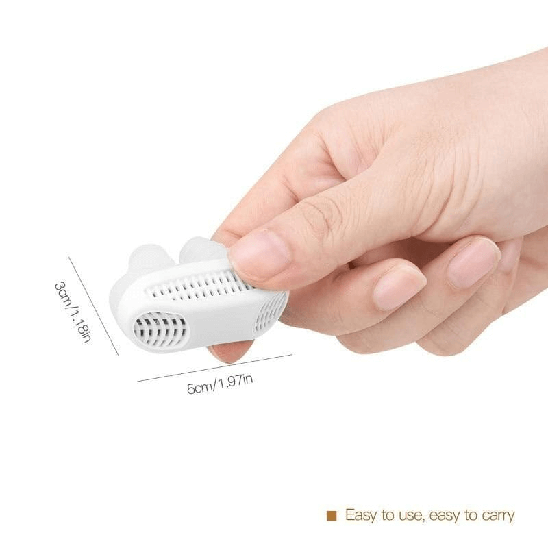 2 in 1 Anti Snore Device + Air Purifier