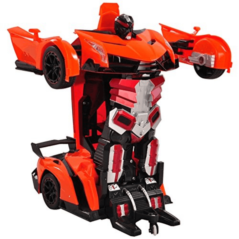 2 In 1 Deformation Robot Remote Control Toy