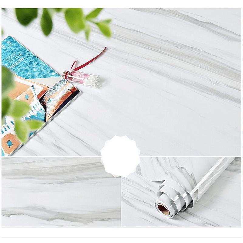 Marble Mural PVC Waterproof Vinyl Self-Adhesive Stickers