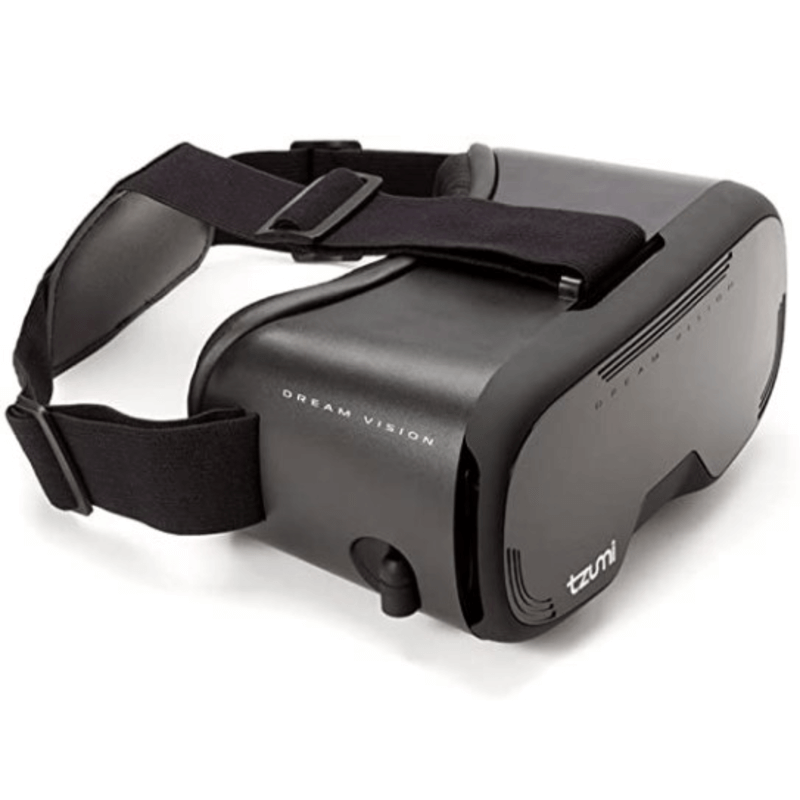 Tzumi Dream Vision Virtual Reality Headset with Retractable Earbuds