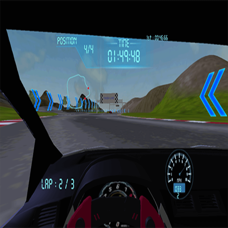 VR Headset- Real Feel Virtual Reality Car (Refurbished)