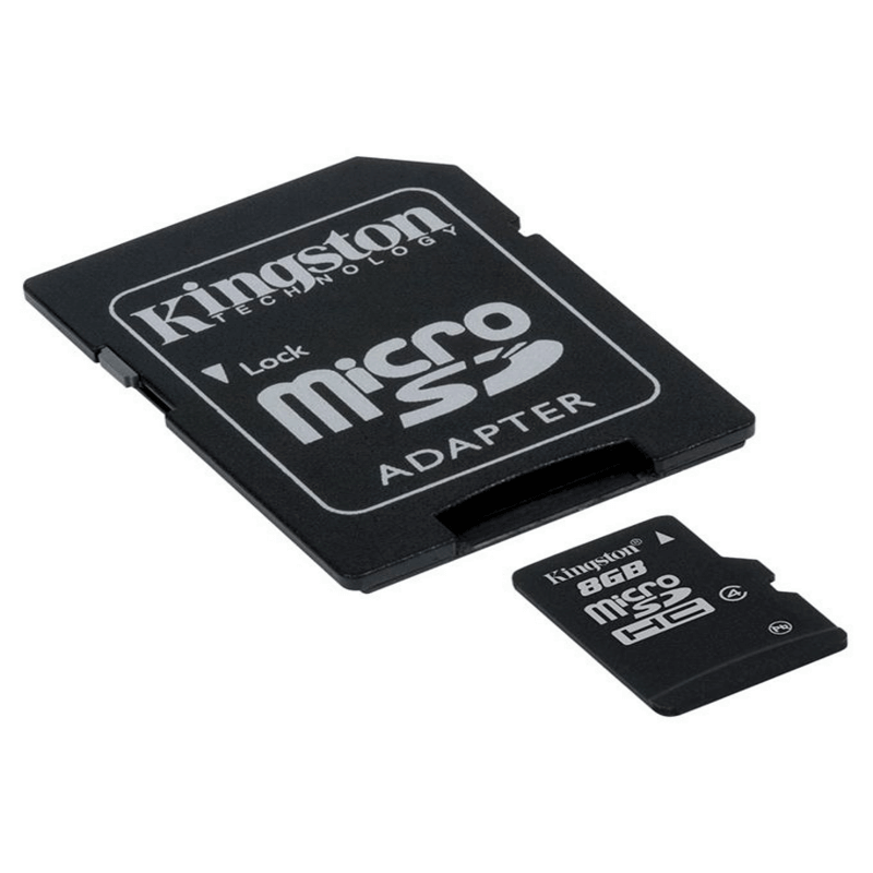 Original Kingston MicroSD Card 8 GB