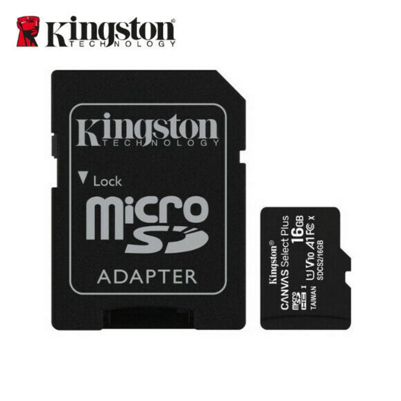 Original Kingston MicroSD Card 16 GB