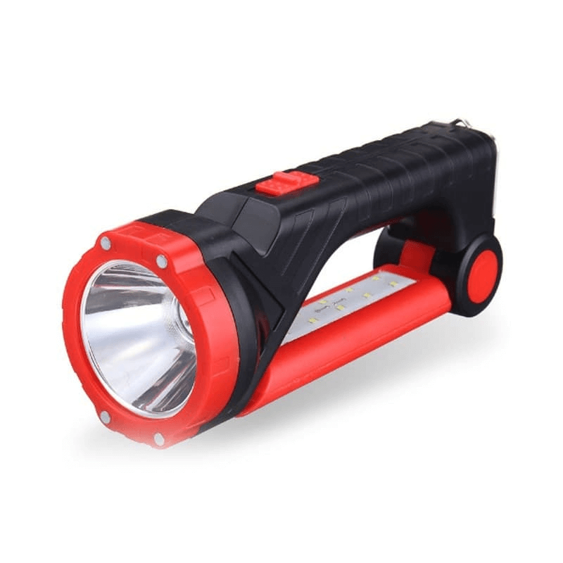 Multifunctional Flashlight Torch with Solar Panel