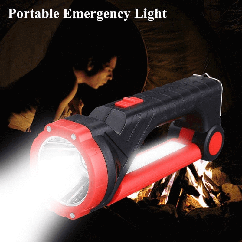 multi-functional--flashlight-torch-solar-panel