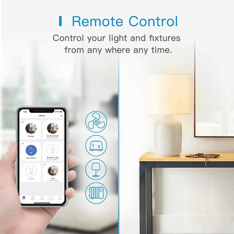 Smart Wi-Fi Plug Energy Monitor