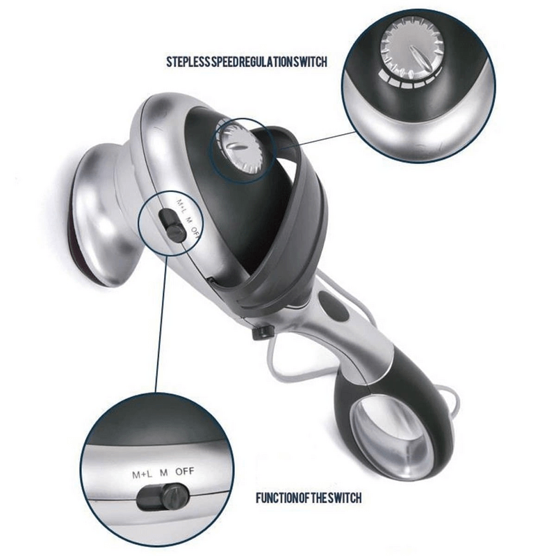 Electric Handheld Body Massager Infrared