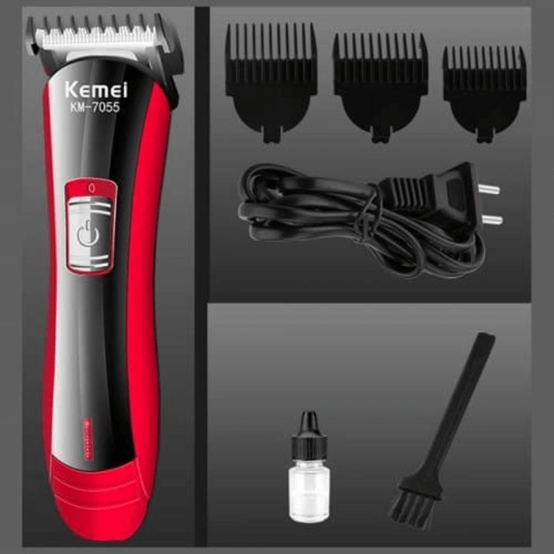 kemei-professional-hair-trimmer-electric-shaver-km-7055
