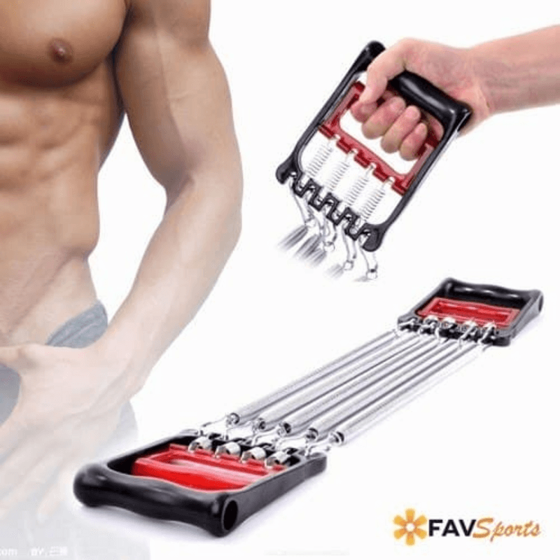 Hand Grip Chest Expander Strength Training Device