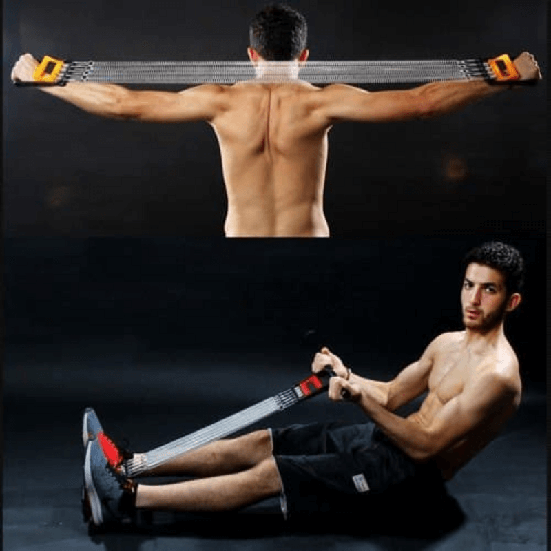 Multifunctional Tummy Trimmer Hand Gripper Pull-Up Bar