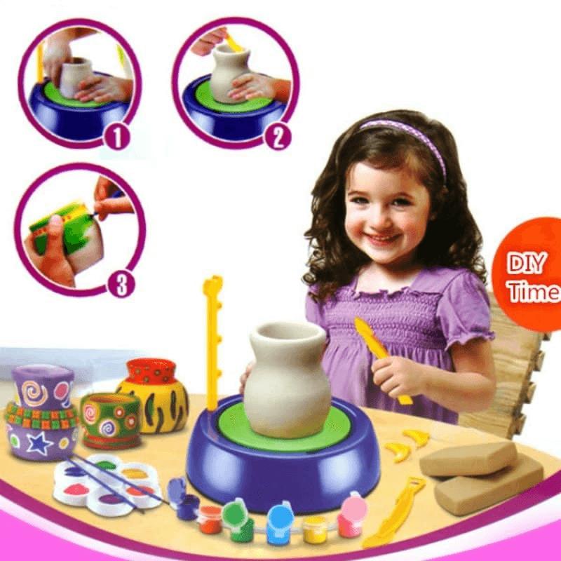 handicraft-toys-ceramic-pottery-clay-kits