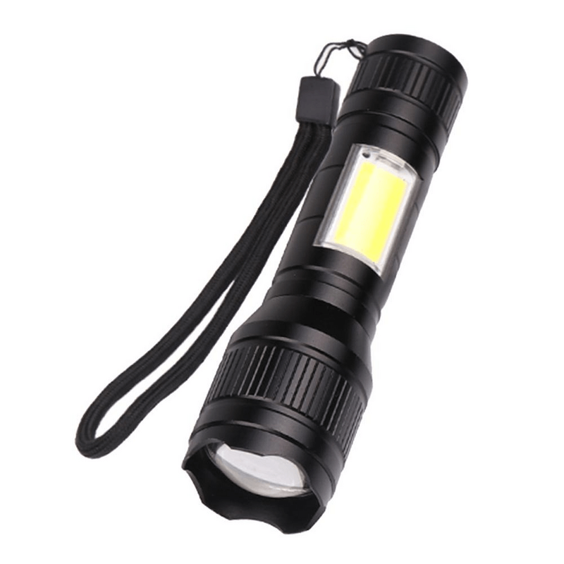 military-led-zoom-able-mini-flashlight-multicolor