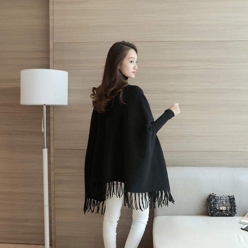 women-poncho-coat-solid-elegant-pullover-female-jumper