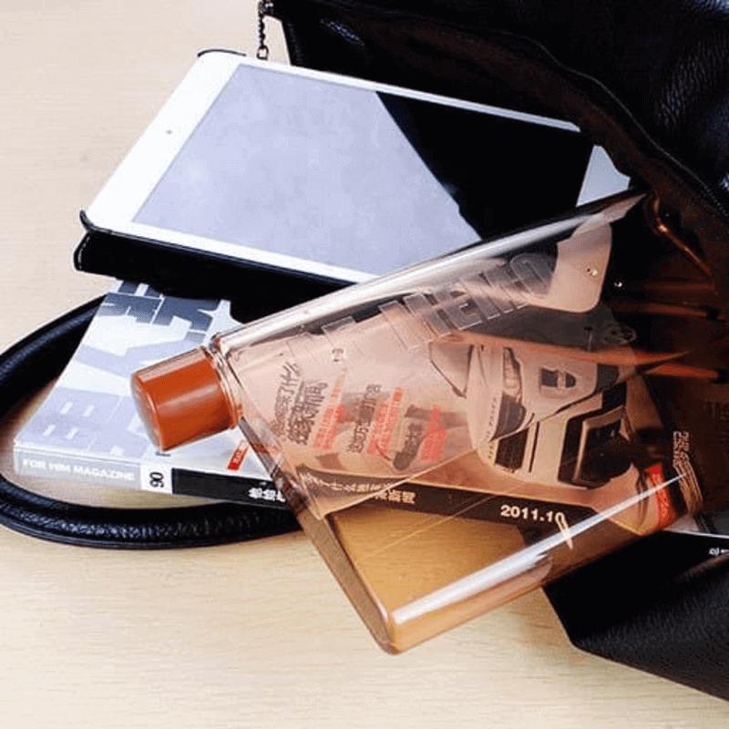 Portable Notebook Water Bottle Shatterproof