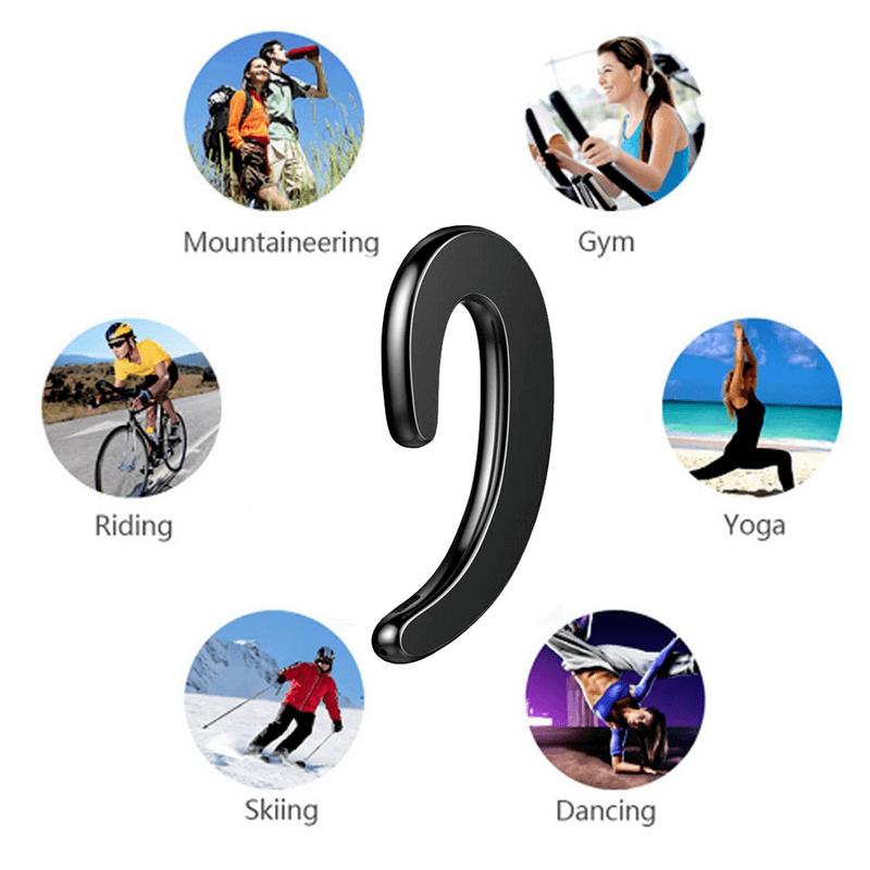 Bone Conduction Universal Wireless Bluetooth 4.2 Headset