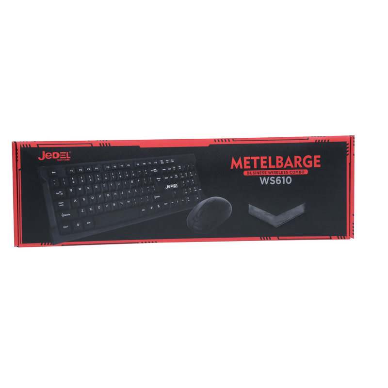 Wireless Desktop Keyboard And Mouse Combo