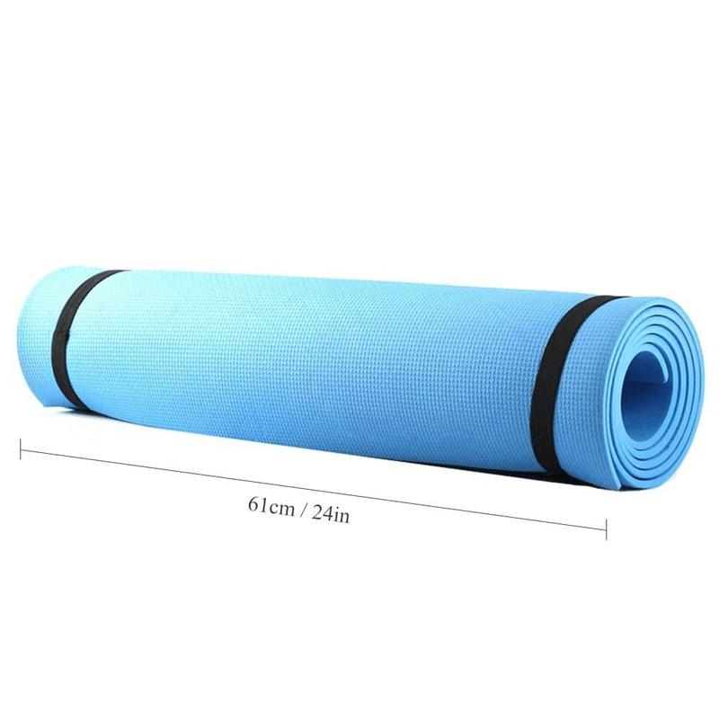 68 X 24 Inches Yoga Mat 6mm Thick EVA Foam