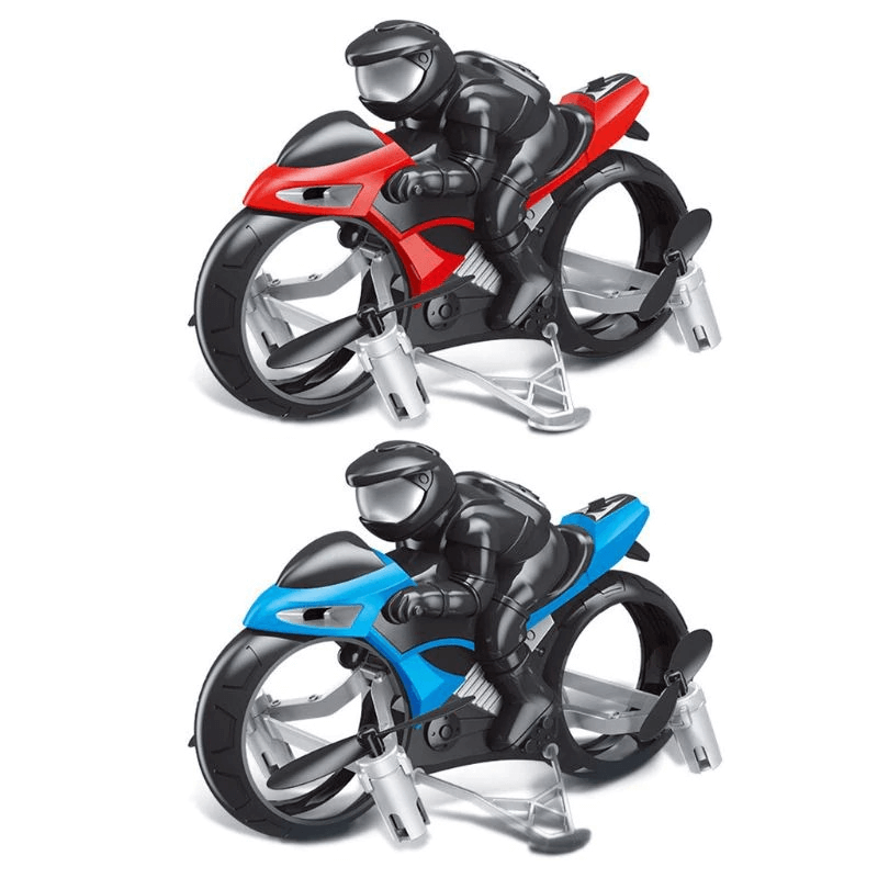 2 In 1 Remote Control Land Air Flying Motorcycle