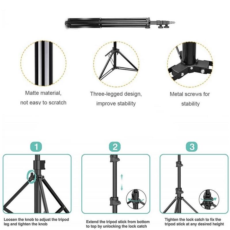 7 Feet Photography Tripod Camera Stand