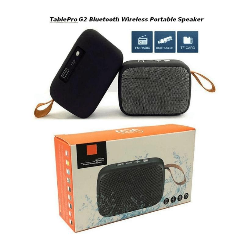 Portable Bluetooth Speaker Stereo Audio MG2