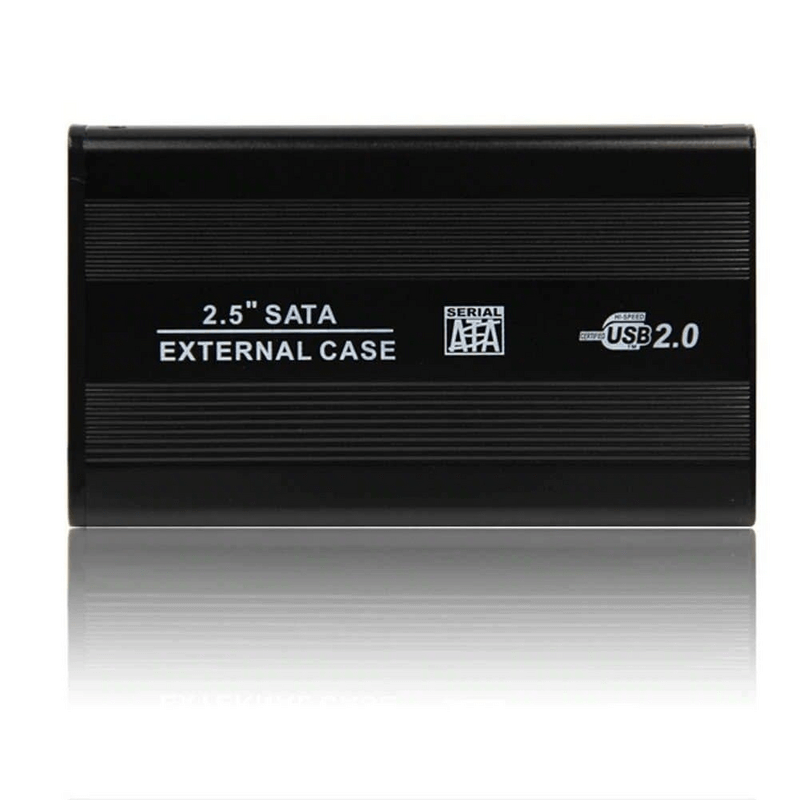2.5Inch HDD SATA External Hard Drive Case USB 2.0