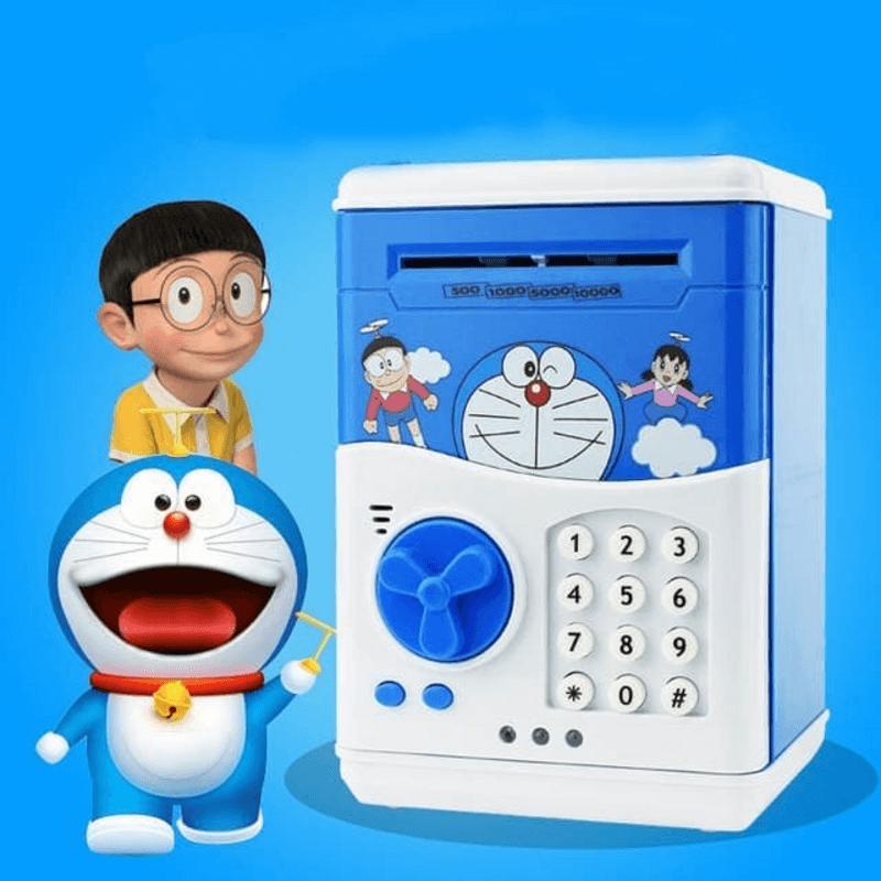 Cartoon Money Bank Smart Telephone Booth