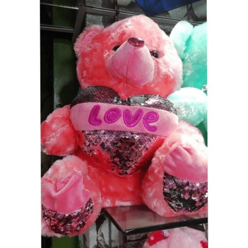 LOVE Teddy Bear Plush Toy