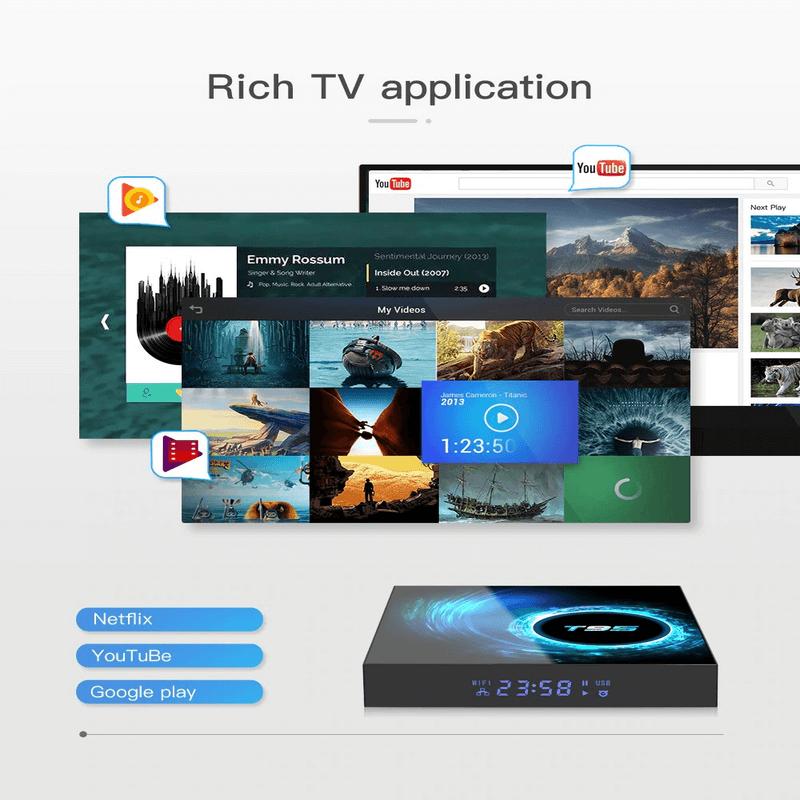 Asano T95 Android TV Box Quad Core WIFI