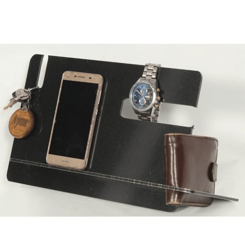 phone-docking-station-wallet-watches-holder