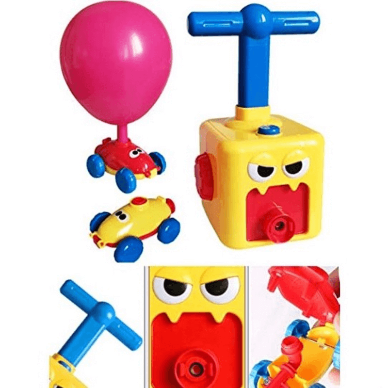 Vehicle Air Pressure Balloon inflator Educational Toy