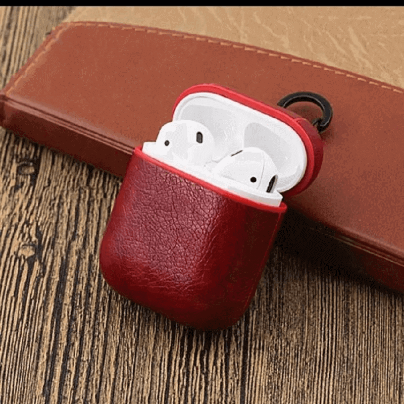 apple-air-pods-leather-protective-shell-case-red