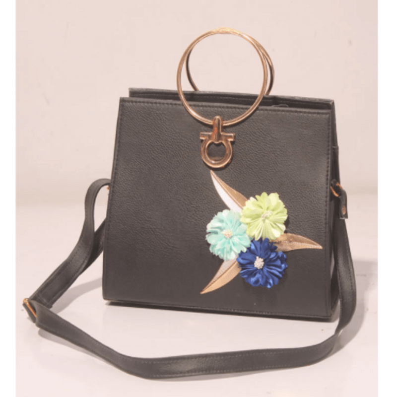 Matte-black-leather-satchel-bag-a4433